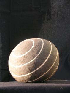 Ceramic Ball 2 Black & white Stoneware clay