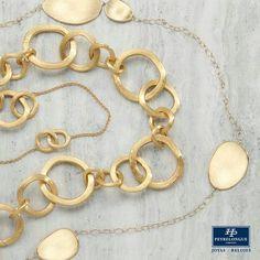 #JoyasPeyrelongue El collar clásico es una pieza de la declaración ofrecida en la mayor parte de las colecciones de #MarcoBicego; Es un elemento esencial que siempre puede transitar del día a la noche. / #jewelry / #luxury / #newchic / #fancy / #elegant / #joyas / #style / #cute