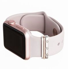 NOTE: The rose gold mini Glam Stack is on backorder. Feel free to order now and we will ship by the end of July if not sooner. mini Glam Stack™ for Apple Watch Rose Gold Apple Watch, Apple Watch Faces, Accessoires Iphone, Apple Watch Accessories, Black Rhodium, Geek Gifts, Apple Products, Cool Watches, Sport Watches