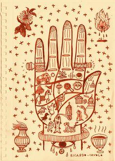 RICARDO·CAVOLO DIARY: Indian magical hand