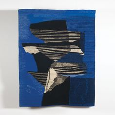 'wings' by jan hladik | wool tapestry 1973