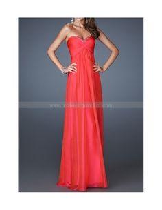 Robes de soirée H2300 rouge feu