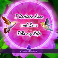 Today's Affirmation: I Radiate Love And Love Fills My Life <3 #affirmation #coaching It is not enough just to repeat words, while repeating the affirmation, feel and believe that the situation is already real. This will put more energy into the affirmation.