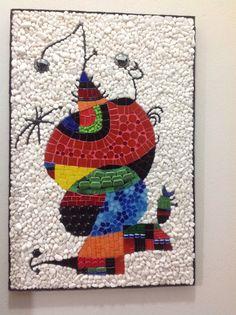 Releitura Miró mosaico