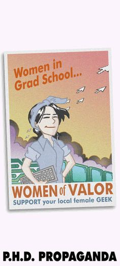 PHD Comics: PhD Propaganda - PhD is a funny, clean webcomic about the life of graduate students at Stanford. 6/10