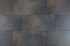 "Full Body Porcelain Tile - Earth Series - Made in USA - Bedrock / 12""x24"""
