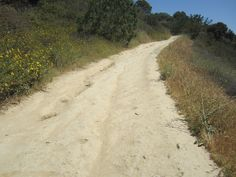 Follow the yellow dirt road