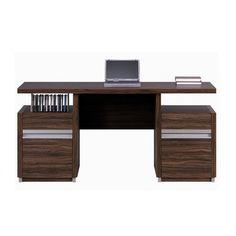 Home Office Desk Olive Wood