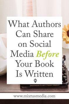 If you're struggling with what to post on social media BEFORE your book is even finished, this post will give you the answers! Book Marketing Tips, Book Marketing Strategies, Social Media Strategies, Social Media tips, What Authors should Post, Author social media, self publishing tips, book publishing strategies, social media post ideas, self publishing tips, book publishing tips