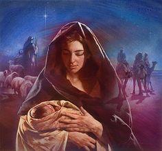 Nathan Greene - Mary and Baby Jesus