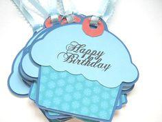 cupcake birthday tag