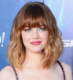 short hair balayage with bangs - Google Search