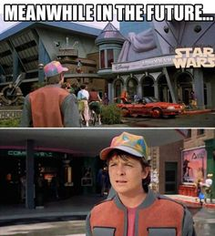 The people of the 1980s wouldn't even believe you. #starwars