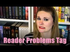 BookTube: Reader Problems Tag - Super Space Chick Super Space Chick