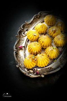 Jagruti's Cooking Odyssey: Kaju, Kesar and Mawa Ladoo / Ladu - Creamy Cashew and Saffron Truffles