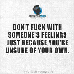 feelings...