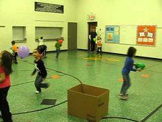 PE Balloon Lesson Kindergarten