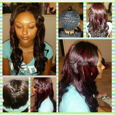 Basic Sew In Installation