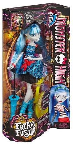 Monster High Freaky Fusion Ghoulia Yelps Doll ~NEW IN BOX~