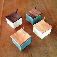 mini butter case, colour combinations.