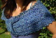 free crochet pattern lace wrap