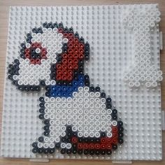 Puppy hama beads by manualidadesvictoria