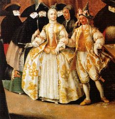 ▴ Artistic Accessories ▴ clothes, jewelry, hats in art - Pietro Longhi