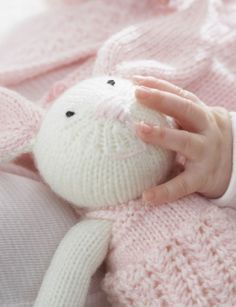 FREE - Zoe Bunny - Patterns | Yarnspirations