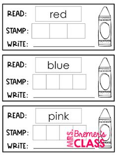Complete color unit for young learners! Includes 10 fun activities to help kids learn their colors and color words. Pack includes posters, Color Word sticker books for assessment, rainbow learning, Color the Room, color by color word worksheets, and much more! Common Core aligned for Pre-K, Kindergarten, and First Grade. #colorunit #colors #kindergarten #firstgrade #backtoschool Sight Word Activities, Literacy Activities, Math Games, Rainbow Learning, Kids Learning, Kindergarten Centers, Math Centers, Color Unit, Sticker Books