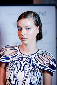 Backstage with ghd at Alice McCall at Australian Fashion Week - hair created by Sophie Roberts #fashion #hair