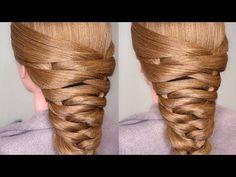 Easy Bridal Tier Braid Hair Tutorial - YouTube