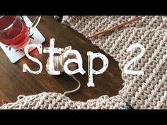 Iedereen kan haken© 1-2-3 Vest deel 2 how to crochet a singlet, Zeeman Luxury wol - YouTube