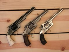 Smith & Wesson Schofield, Russian, and Model No. 3