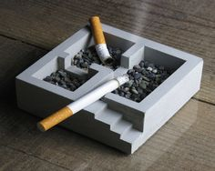 For when smoking in the house isn't an option, get the sensation with the Kiso Ashtray.