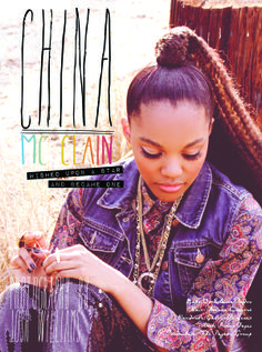 China Mcclain Wearing All Jenny Dayco Jewelry For Her Shoot With Disfunkshion Magazine Anything Is