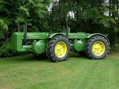 JOHN DEERE D's ..Wow, how cool are these old conjoined twins???