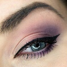 and again...my purple obsession- but this make up is so light and airy(if you can describe make up with that word...?!)| Preen.Me