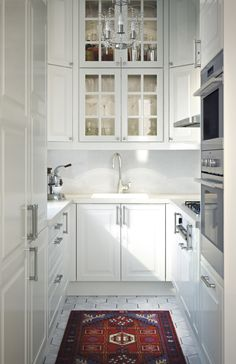 3 design ideas for a small kitchen  IKEA white kitchen
