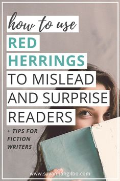 How to Mislead Your Reader with Red Herrings When done well, red herrings help writers create plot twists that surprise even the most clever of readers. Learn how to create red herrings in this post! Creative Writing Tips, Book Writing Tips, Writing Process, Writing Resources, Writing Help, Writing Quotes, Writing Inspiration Tips, Writing Ideas, Writing Images