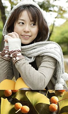 hooded scarf knitting pattern (would be cute on you) free.