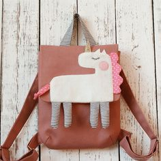 Buy Children's backpack with a unicorn on Livemaster online shop