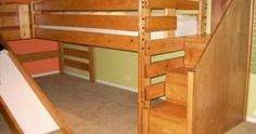 Loft bunk beds with stairs ideas