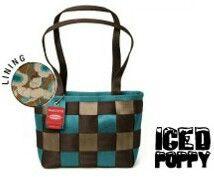 *Harveys Seatbelt Bag 2007 LTD Medium Tote in ~Iced Poppy~ #6 of 250*