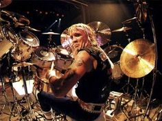 Iron Maiden drummer Nikko McBrain was unable to play a concert last week in Liverpool when he came down with a case of swollen udders. Description from tyrannyoftradition.com. I searched for this on bing.com/images