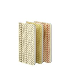 Linear Stem Notebooks 3 Pack Set  from our new Orla Kiely! www.classiccargo.biz