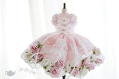 Hey, I found this really awesome Etsy listing at https://www.etsy.com/listing/236441652/blythe-pink-dress-flowers-lace-fancy