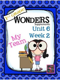 If you are already using or you are new to the Wonders Reading Program, this 82 page packet is for you.  This packet will help you teach the skills in Unit 6 Week 2 of 6.  You'll have  help with weekly lesson planning, printables for centers or word work activities, anchor charts, essential question posters, vocabulary and spelling practice, and much, much more.UNIT 6 WEEK 2Unit CoverPage 1  Weekly CoverPage 2  Table of ContentsPage 3-5 Working at HomeBUILDING THE CONCEPTPage 6  Essential…