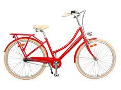 JORDAAN LADY RED (3 speed) ,  - Lekker, Hello, Bicycle! (sg)  - 1