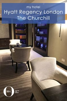 The atmosphere at the Hyatt Regency London, The Churchill, is very cozy, serene, and really really warm. The hotel has gorgeous wallpapers and carpets in different textures, which extends into the rooms as well.
