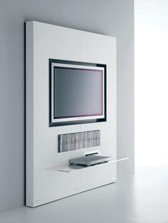 Pannello porta tv a parete in vetro Show | TV cabinets | Pinterest ...